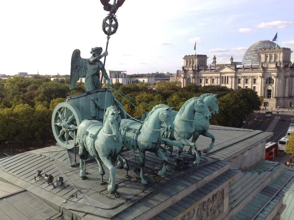 Quadriga Brandenburger Tor Reichstag Berlin Geschichte Berlin Quadriga Brandenburger Tor
