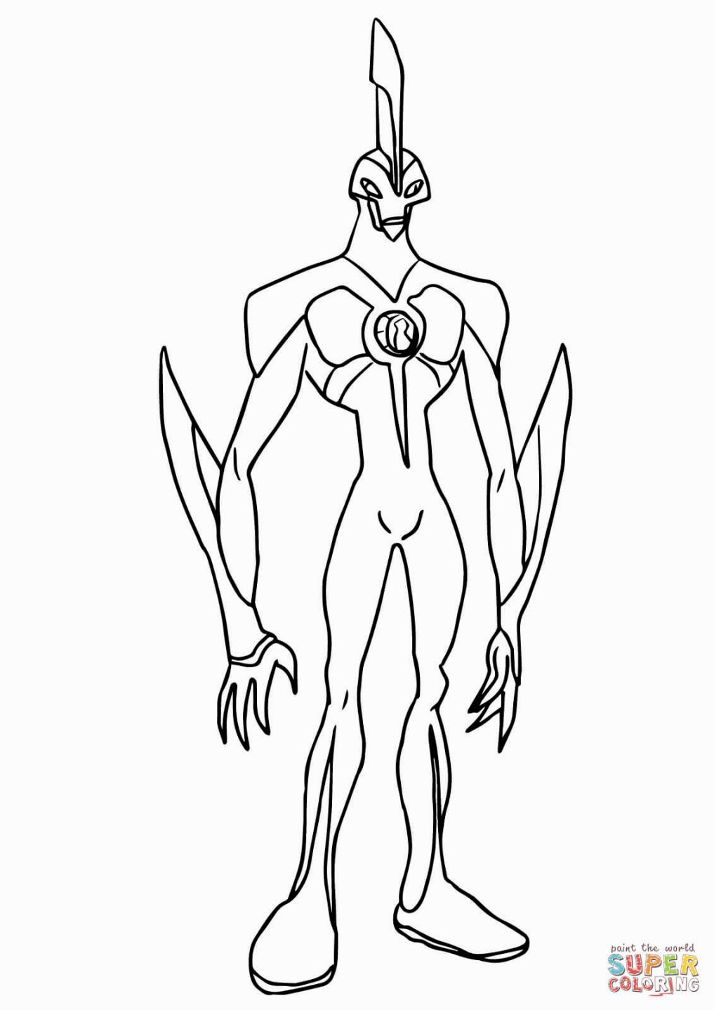 Coloring Ben 10 | Coloring Pages | Pinterest