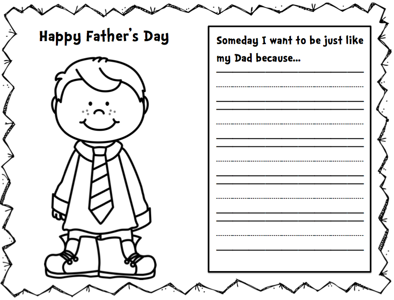 fathers day cards template free fathers day card
