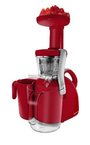 Big Boss 9177 Nutritionally Beneficial Slow Juicer, Red - http://www.majestyappliance.com/big-boss-9177-nutritionally-beneficial-slow-juicer-red/