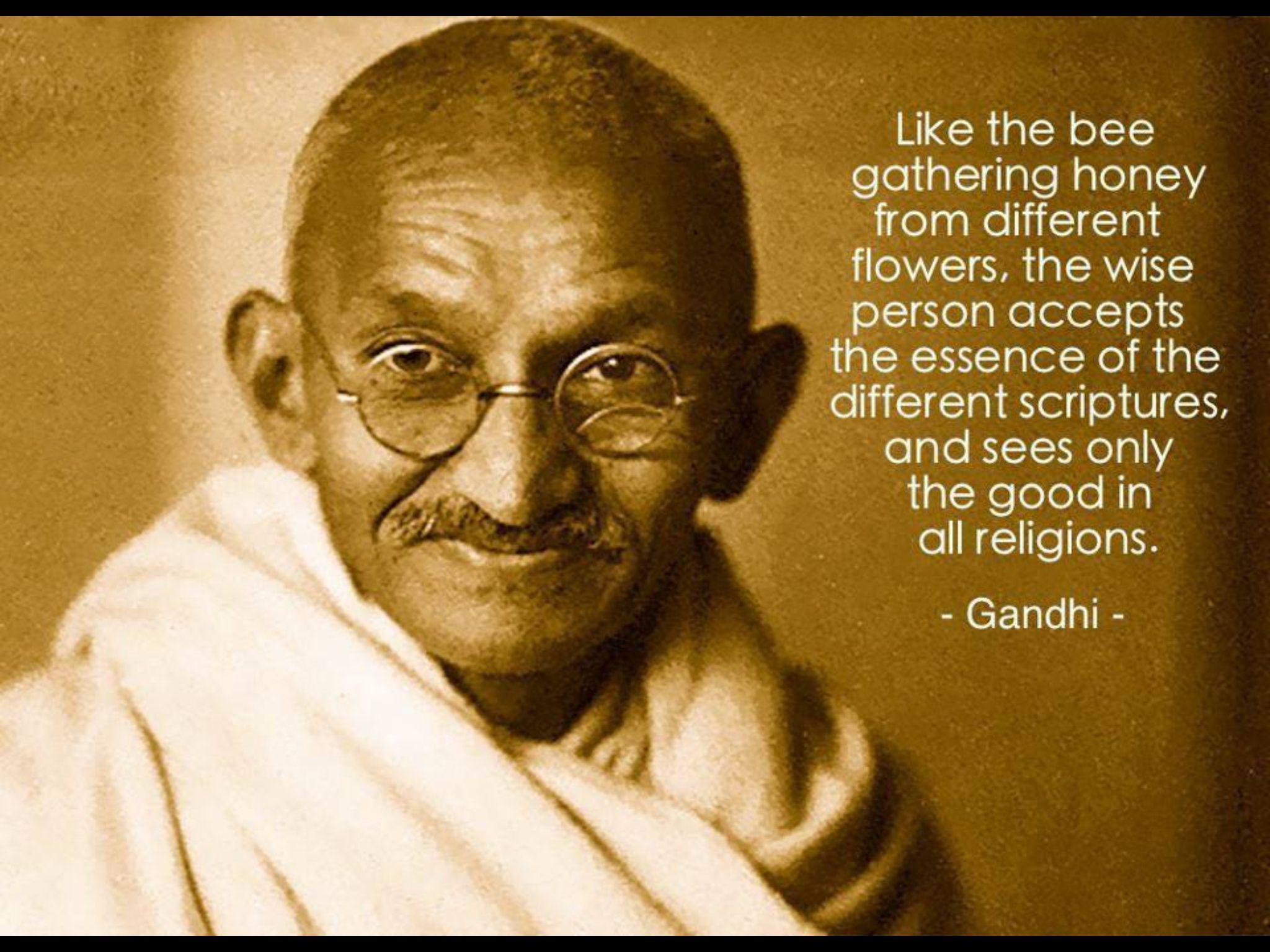 Mahatma Gandhi Wisdom All Religions Mahatma Gandhi - Gandhi religion