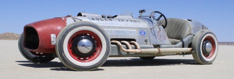 El Mirage: The Adler XF/VOT Boat-tail Roadster ~ TheGentlemanRacer.com