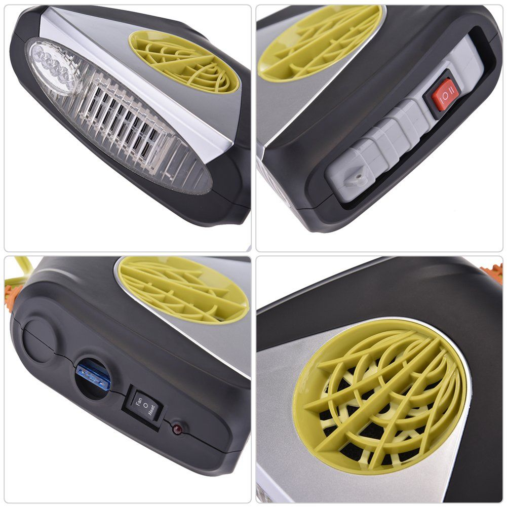 Lianle Car Portable Heating Cooling Heater Fan Defroster Demister Air Blower Car Heater With Air Purifier C With Images Heating And Cooling Heater Fan Portable Heating