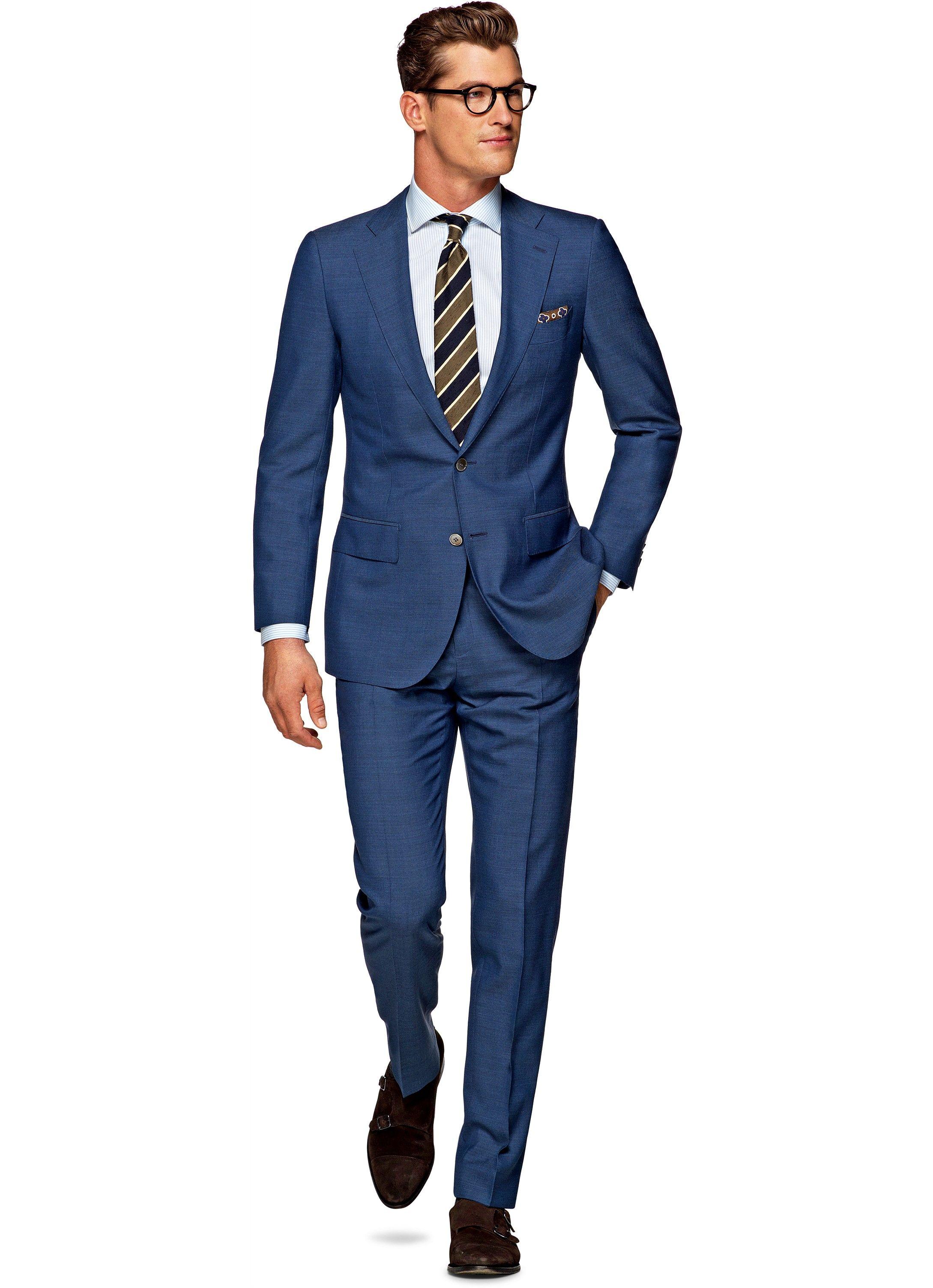 Suit Light Blue Plain Lazio P4258i   Suitsupply Online Store ...