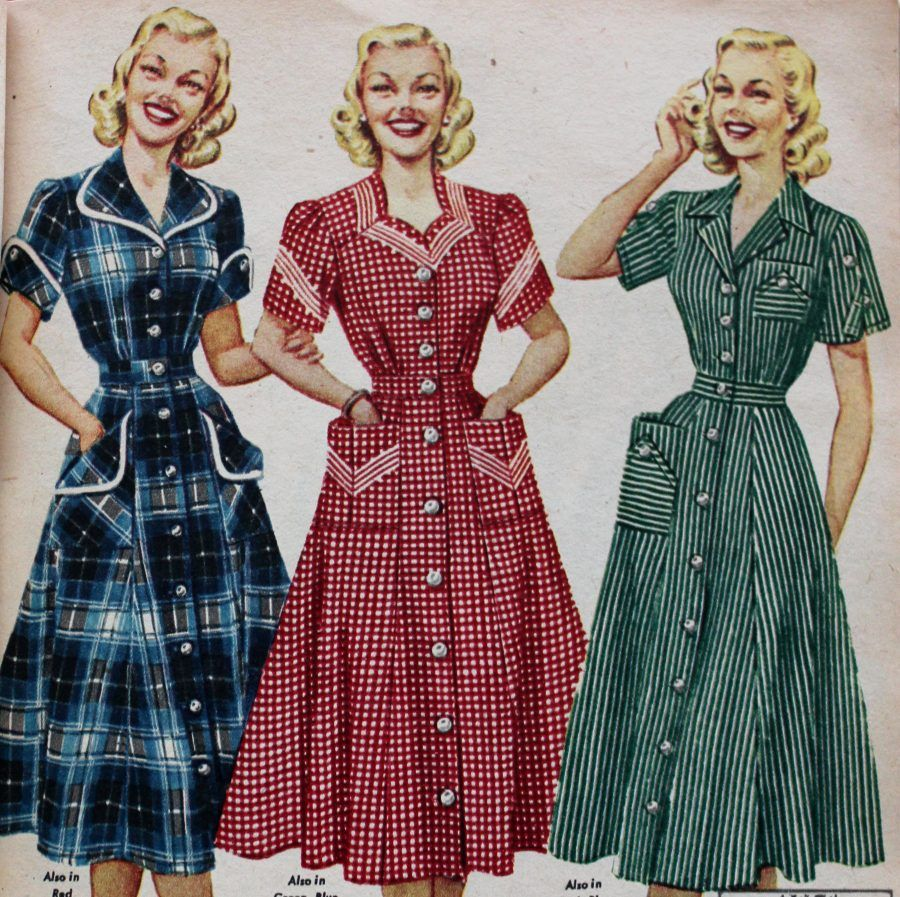 Fifties Dresses 1950s Style Swing To Wiggle Dresses Fifties Dress Dress History Shirtwaist Dress