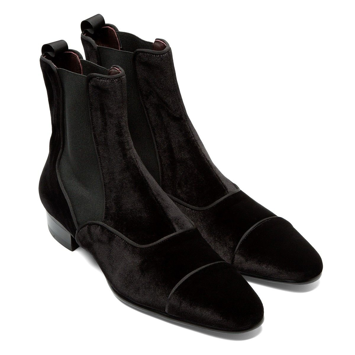 Phineas Cole Evening Velvet Chelsea Boot If Instyle Forever