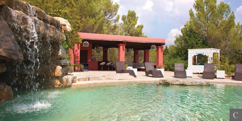 Location de villa de luxe à Ibiza, Espagne villa de luxe en 2018