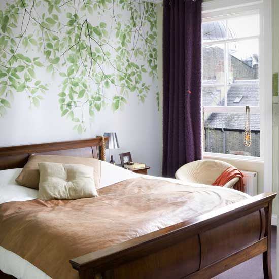 Tremendous Elements Of The Outdoors Have Been Brought Into This Bedroom The Largest Home Design Picture Inspirations Pitcheantrous