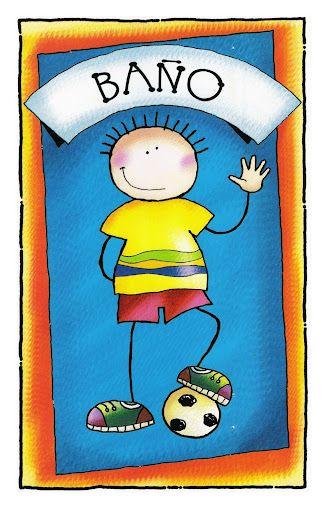 Bano Nino Jpg 327 512 Educacion Infantil Carteles De Bano Educacion