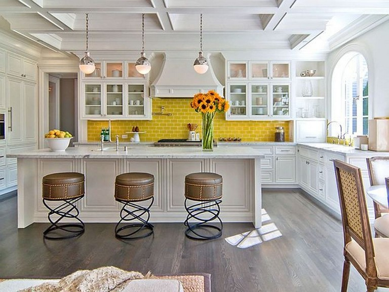 30 best styles yellow brick home inspirations ideas small kitchen storage home grey kitchens on kitchen ideas yellow and grey id=13967