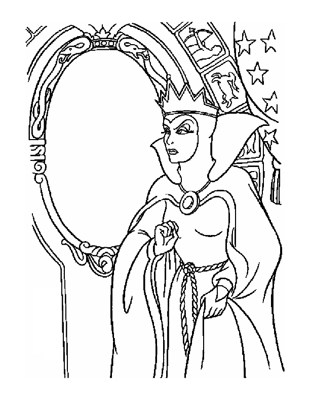 Coloring Pages Cartoon Snow White 154 Evil Queen Witch Coloring Pages Snow White Coloring Pages Disney Coloring Pages