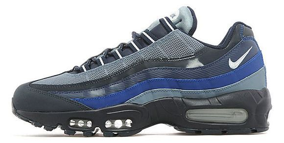 Sneakers – Women's Fashion : Nike Air Max 95 Dark Obsidian / White – Navy |
