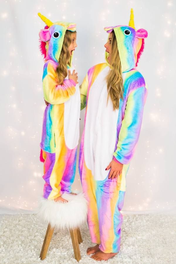 3b07c1e18 Mommy & Me Matching unicorn pajamas are great quality and stunning! Little  ones love to match their mommy! Super stylish, yet so comfy!