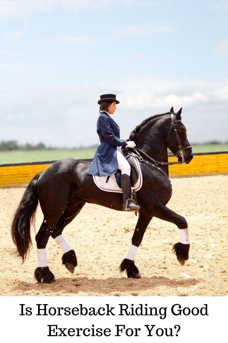 Health benefits of horseback riding is explained.