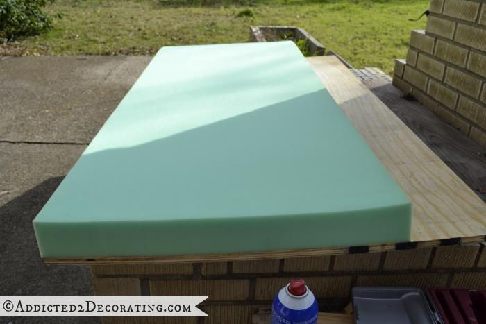 DIY Ottoman Coffee Table Part 1 – How To Do Diamond Tufting ...