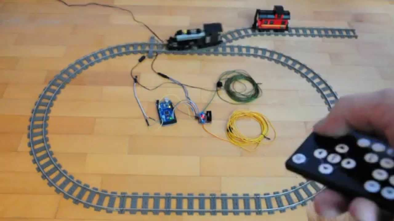 Arduino For Lego Trains 7 Infra Red Remote Control Robtica List Of Best Online Circuit Simulator Gadgetronicx