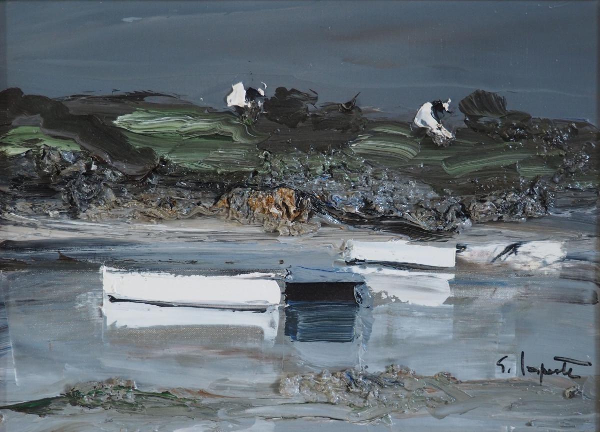 Paysage 2000 concernant georges laporte (1926-2000) , paysage breton. | obrazy - inspirace