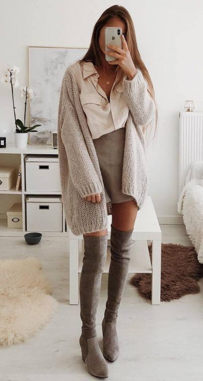 30 Chic Fall Outfits To Inspire Yourself - Trend Women #springskirtsoutfits