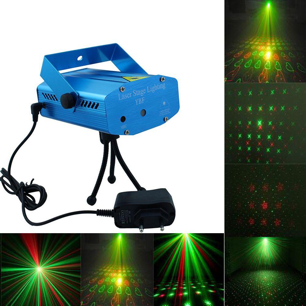Hoge laser mini aluminium led stage lamp pointer disco podium ...