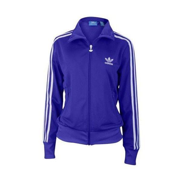 low cost 3adbb cfa71 adidas Originals Firebird Track Jacket ❤ liked on Polyvore featuring  activewear, activewear jackets, warm up jackets, track top, tracksuit jacket,  adidas ...