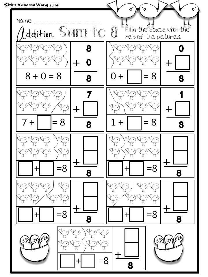 Spring Math And Literacy No Prep Printables Kindergarten Distance Learning Spring Math Kindergarten Kindergarten Math Spring Kindergarten Preschool math and reading worksheets