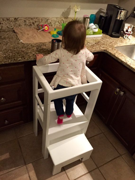 Children S Infant Interactive Kitchen Play Step Stool