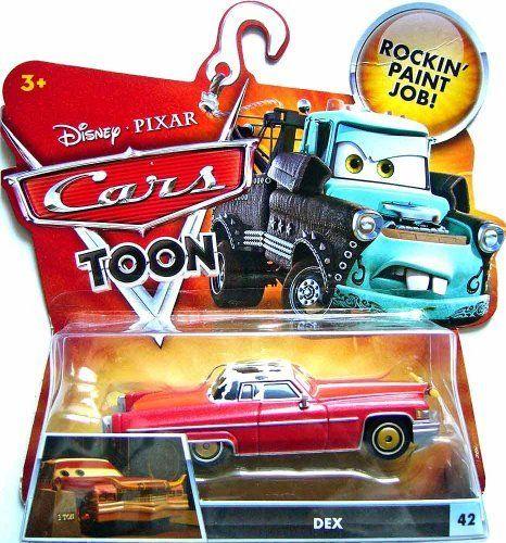 Disney / Pixar CARS TOON 155 Die Cast Car Dex By Mattel