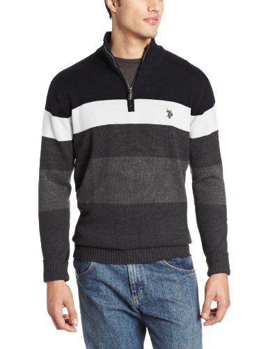 U.S Boys Birdseye Knit Cardigan Sweater POLO ASSN