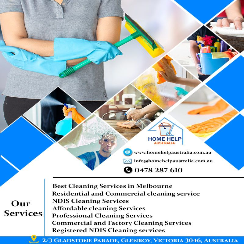 Get The Benefits Of NDIS Cleaning Services In Your Area
