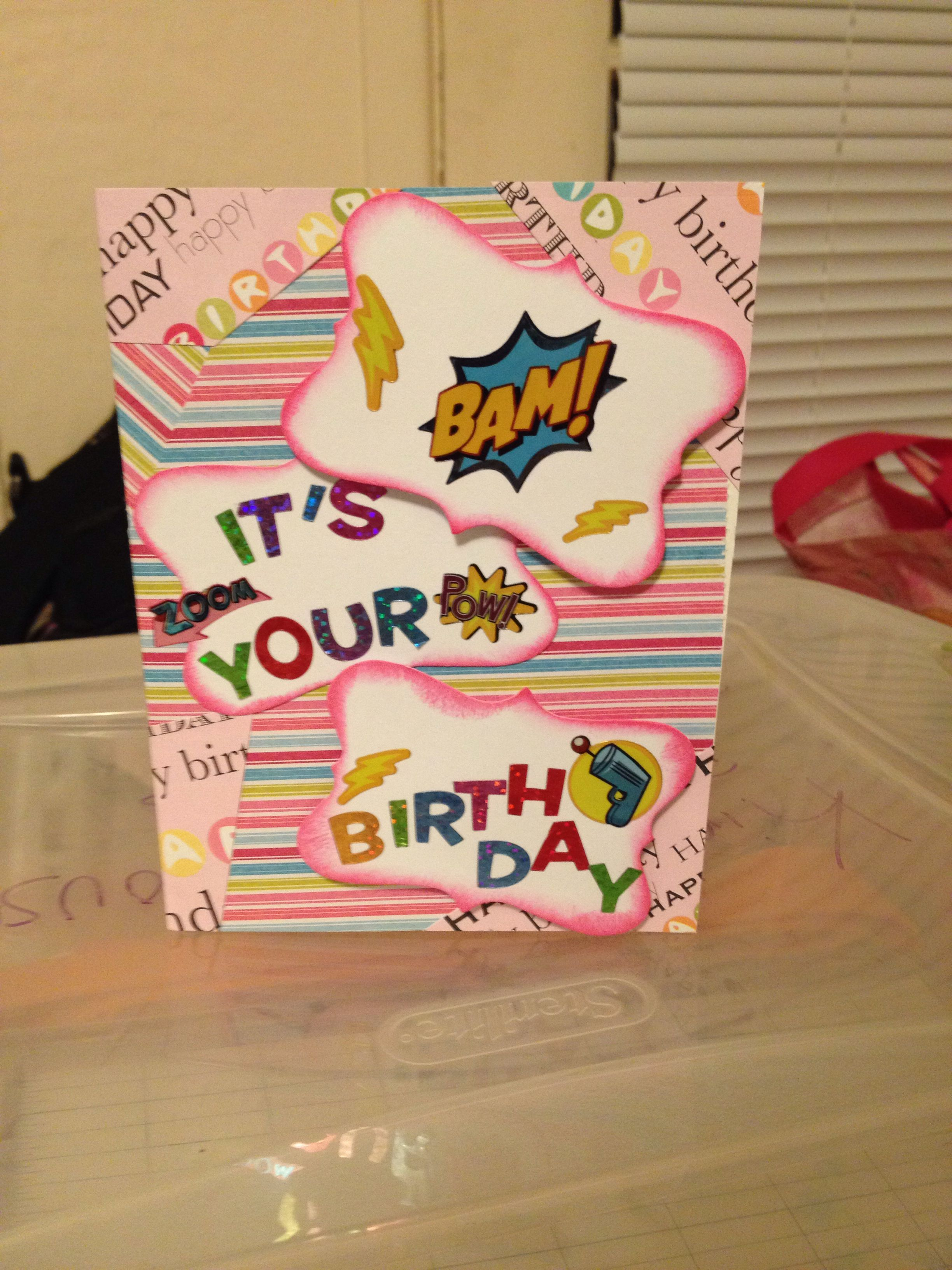 Birthday Card For 10 Year Old Girl