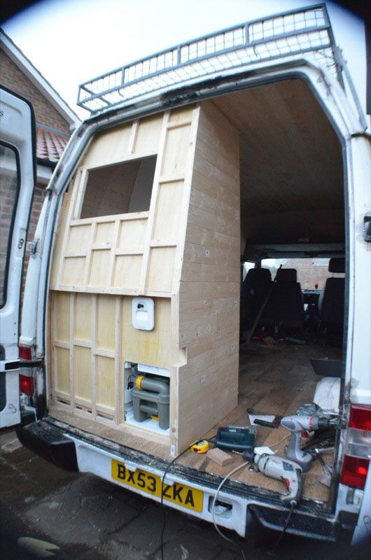 DIY Campervan Conversion Photos