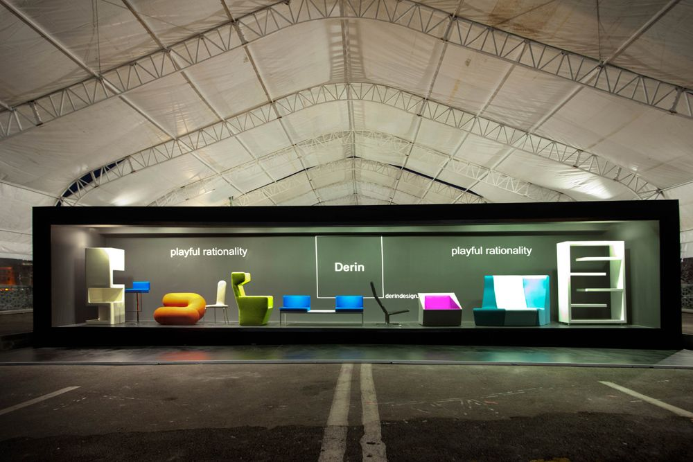 Derin Design Booth At Istanbul Design Week Trade Show Exhibition Design E