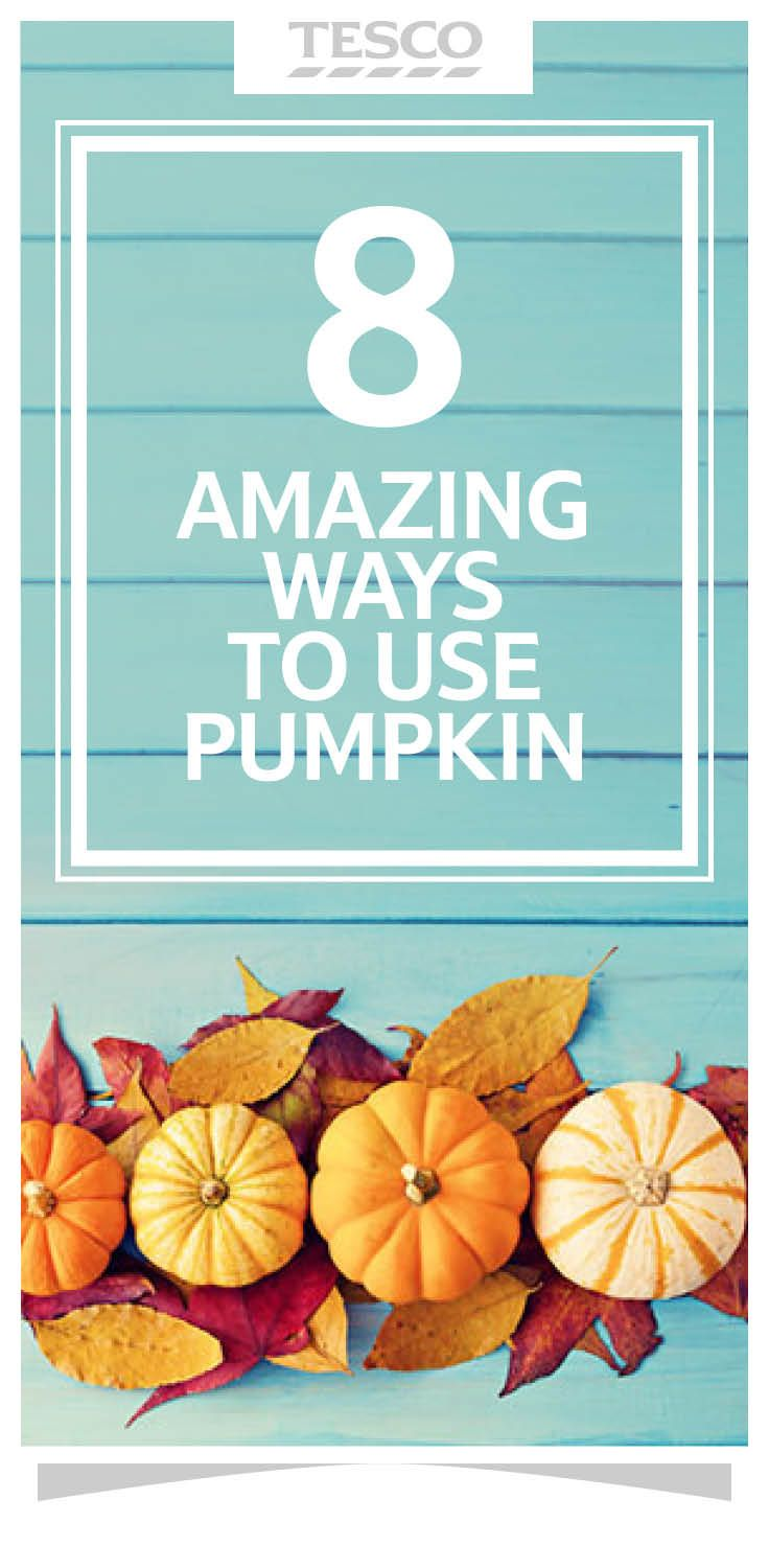 Vibrantly coloured and bursting with natural sweetness, check out our eight ways to use pumpkin this Thanksgiving. | Tesco