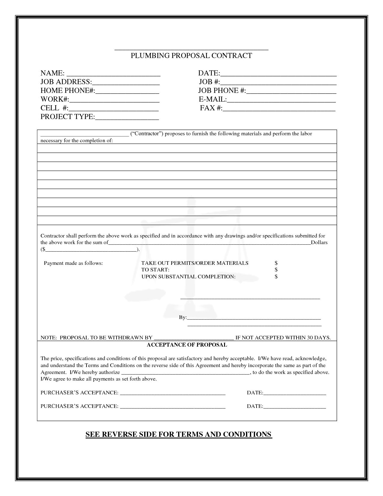 040 Cleaning Proposal Template Pdf Unusual Ideas Service