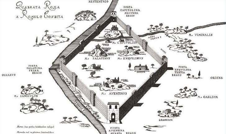 April 21st, 753 a.c. Rome's birth