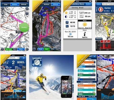 Android App NAVIONICS SKI per Sci e Snowboard ora è