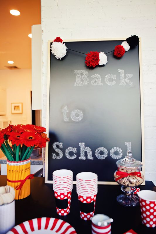 back to school breakfast this calls for a party chalkboard
