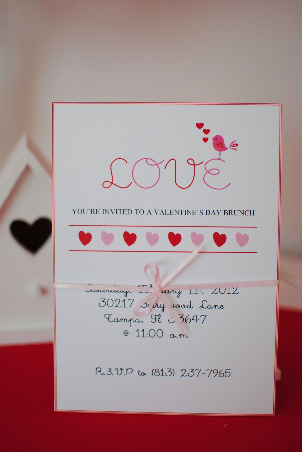 Funky Valentines Party Invitations Embellishment - Invitations ...
