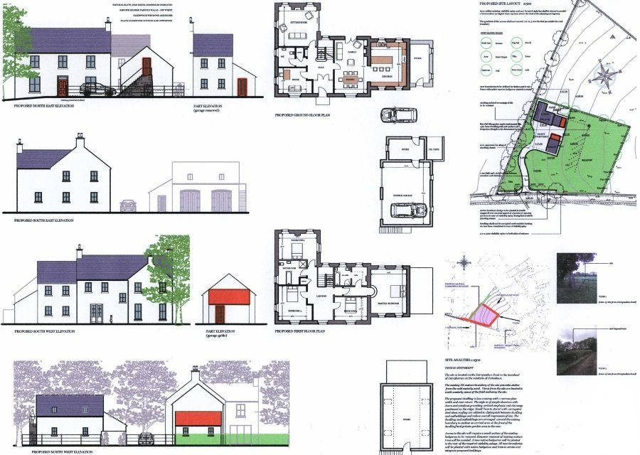I 39 ve been working on sharon johnston architectural for Northern house plans