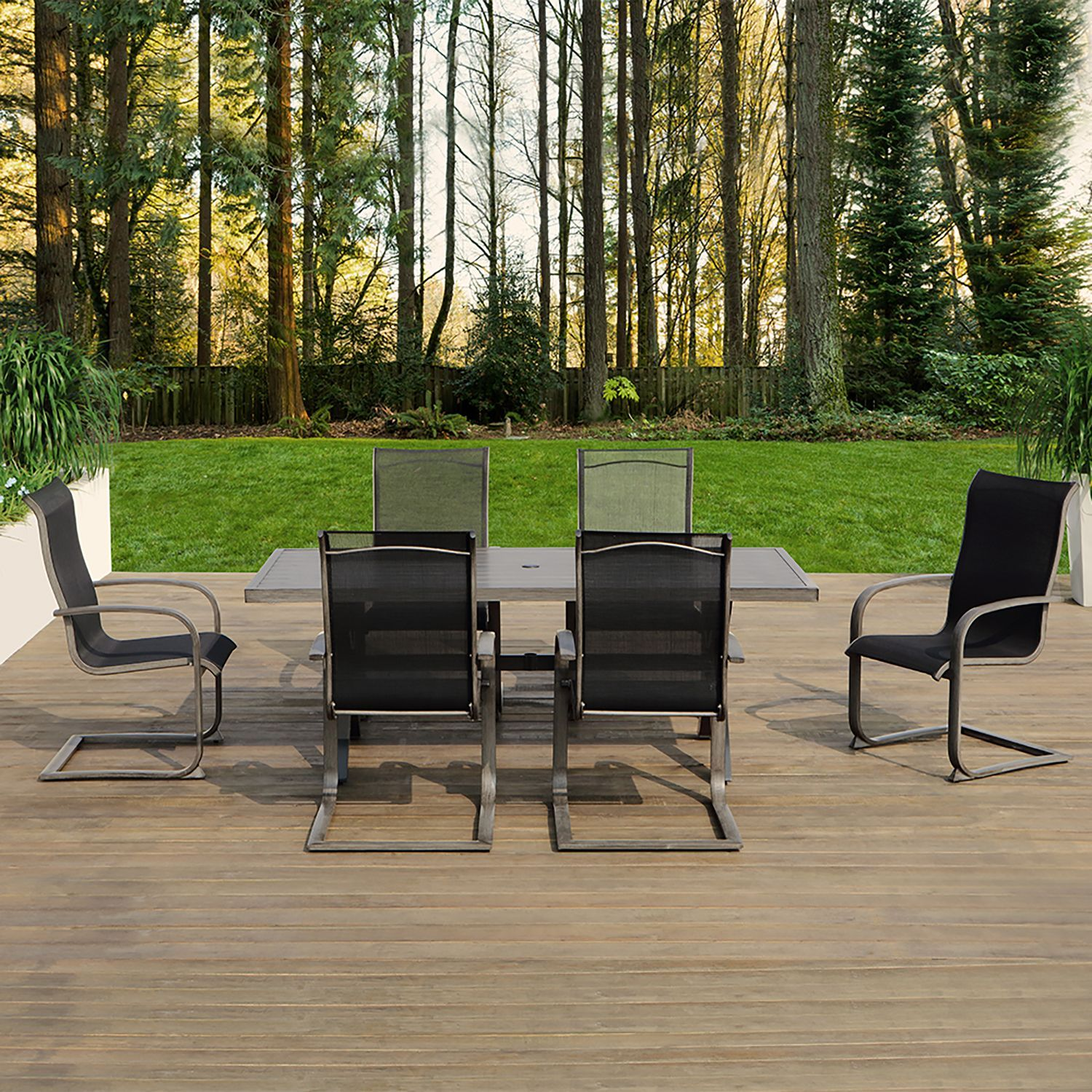 OVE Mulholland 7 Piece Outdoor Dining Set