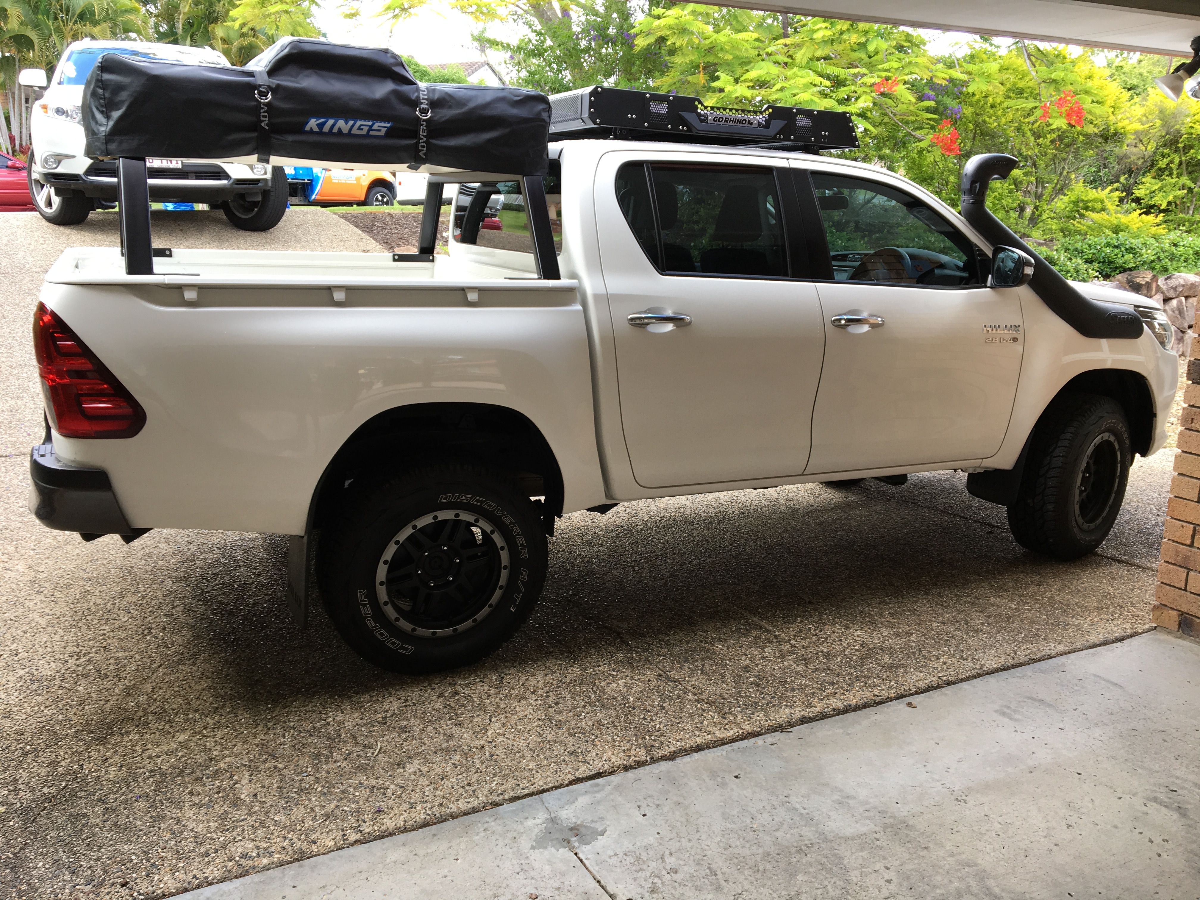 Rooftop Tent Toyota Hilux With Built Rack Roof Top Tent