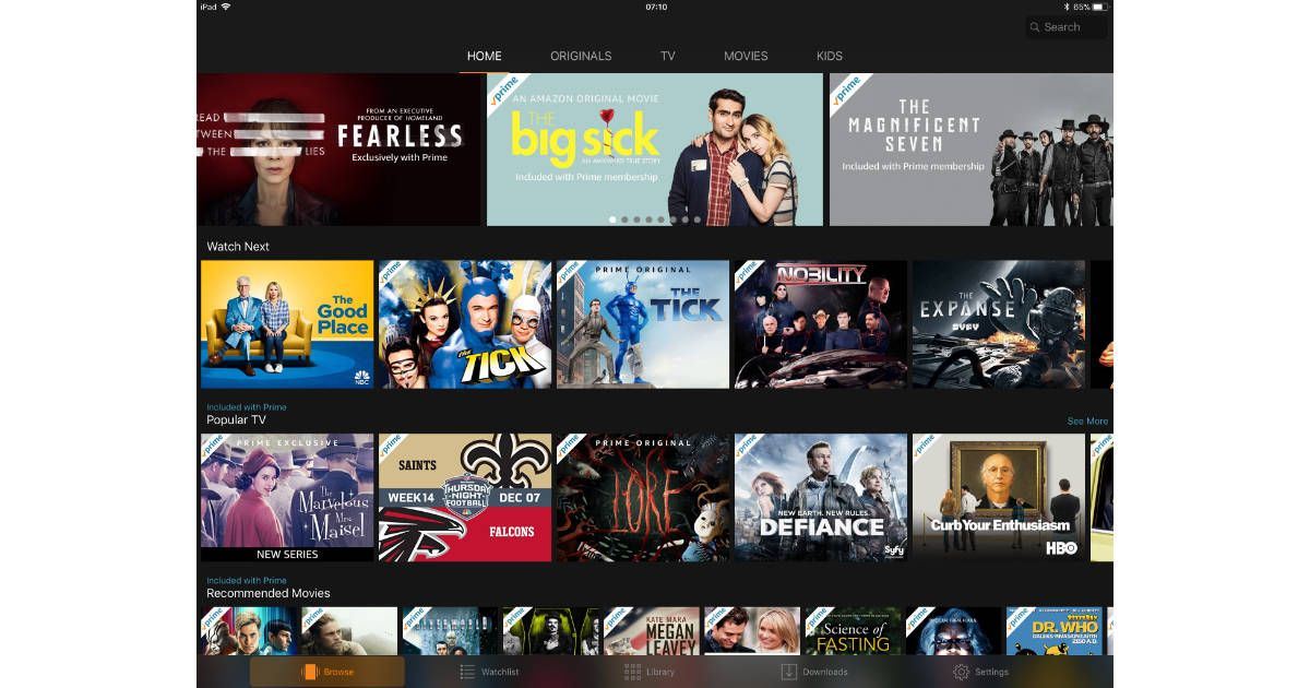 Amazon Prime Video Most Downloaded Apple TV App Ever