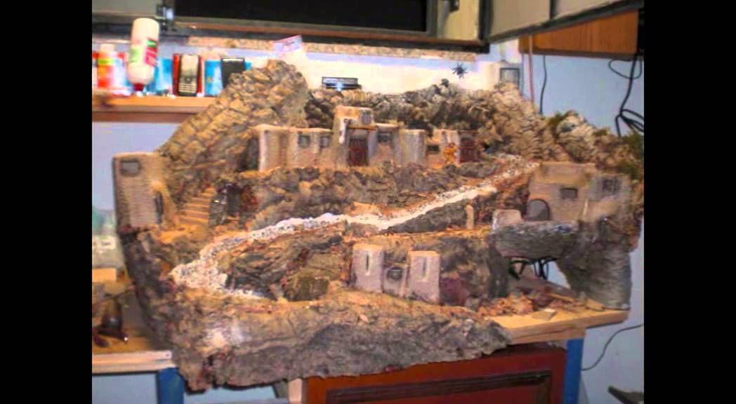 Come costruire un presepe con ruscello presepi for Costruire un cottage