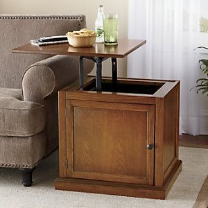 Lift Top End Table From Through The Country Door 174 End Tables End Tables With Storage Table