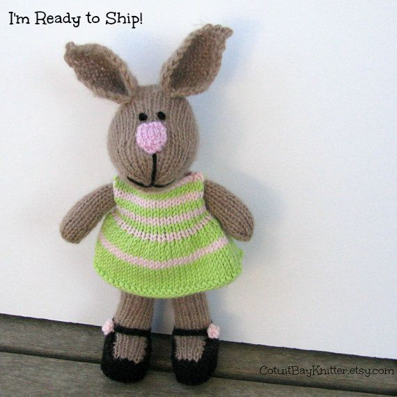 Easter bunny doll easter gift bunny kids by cotuitbayknitter easter bunny doll easter gift bunny kids by cotuitbayknitter negle Gallery