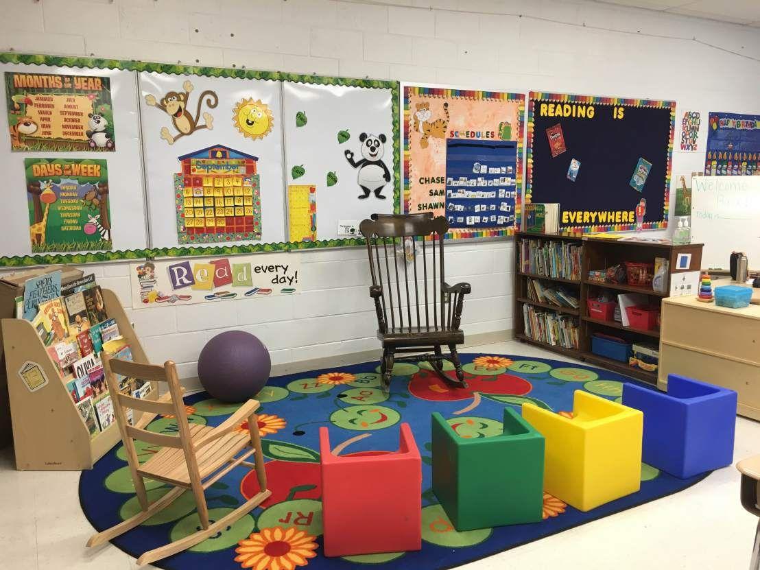 Zen Classroom Decor ~ Classroom organization in a special needs autism