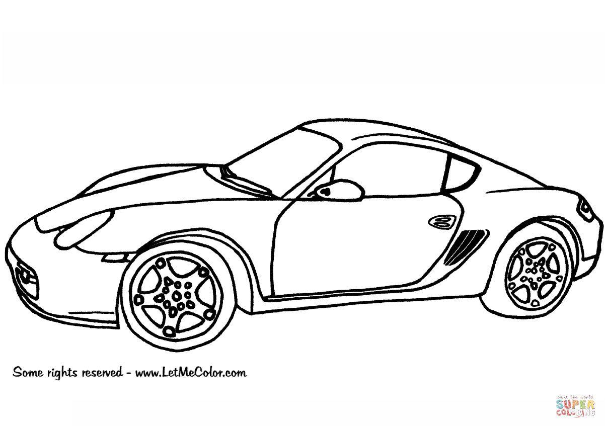 10 Nouveau Coloriage De Porsche Photos Dessin Voiture Porsche