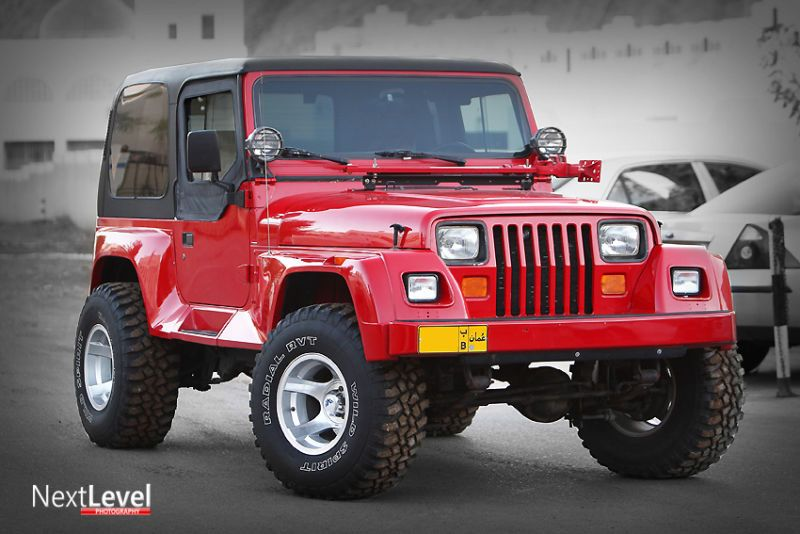 Lifted Jeep Yj Renegade
