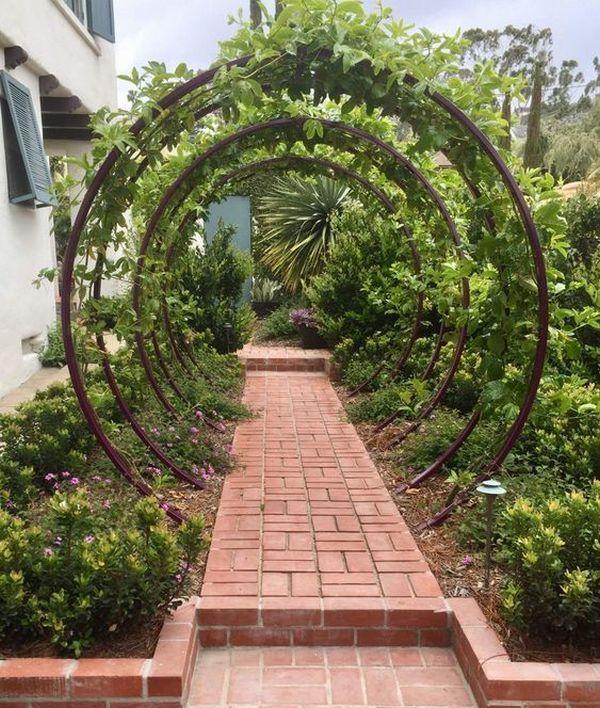 Amazing DIY arches design – 23 ways to highlight your garden