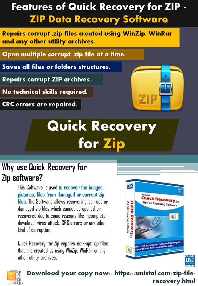 Corrupt Zip files  ? Recover it  !!